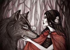 As little red riding hood_2 by IrenHorrors.deviantart.com on @deviantART