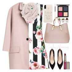 """""""Sunday"""" by grozdana-v ❤ liked on Polyvore featuring Dolce&Gabbana, The Body Shop, Clarins and Aevha London"""
