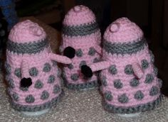 Dalek Egg Cozy (Dr Who)