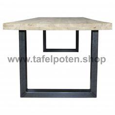 Tafelpoten.shop De stalen U tafelpoten geven uw eettafel de echte industriele look