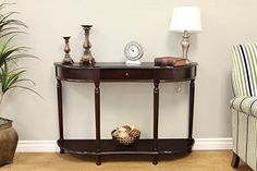 Frenchi Home Furnishing Console Sofa Table with Drawer Expresso * Read more reviews of the product by visiting the link on the image.
