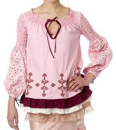 """My favorite Odd Molly Piece, """"Coming up Roses Tunic"""""""