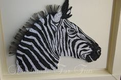 FunQuilling: Quilled Zebra