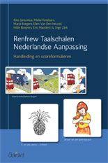 Renfrew Taalschalen Nederlandse Aanpassing / Jansonius, Kino; Ketelaars, Mieke; Borgers, Marja; et al