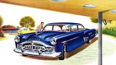 1951 Packard Patrician 400 - Promotional Advertising Poster