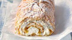 Sweet Desserts, Sweet Recipes, Cake Recipes, Czech Recipes, Ethnic Recipes, Good Food, Yummy Food, Lemon Curd, Pavlova