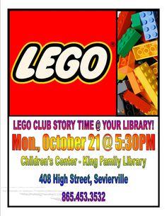 LEGO Club Story Time
