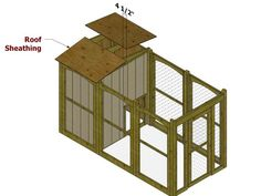 DIY dog pen--for rescue dogs