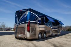 Luxury Campers, Luxury Motorhomes, Rv Motorhomes, Luxury Bus, Coaches For Sale, Rv World, Class A Rv, Bus Living, Tattoo