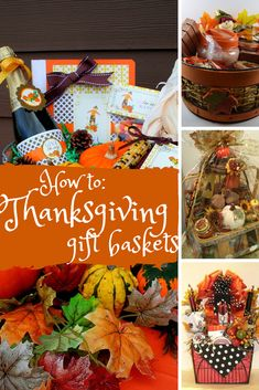 How to: Thanksgiving Gift Baskets