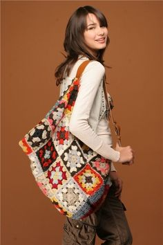 Fantastic Granny Square Bag!