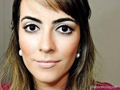 Tutorial delineado maquiagem delicad