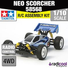 58568 #tamiya neo #scorcher 4wd buggy #tt-02b 1/10th r/c radio control 1/10 buggy,  View more on the LINK: http://www.zeppy.io/product/gb/2/381541903829/