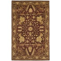 @Overstock - Update your home decor with an exotic vegetable dyed wool area rug from Pakistan. This hand-knotted Persian-style area rug has a maroon background and a maroon border and displays stunning panel colors of green, gold, rust and ivory.http://www.overstock.com/Worldstock-Fair-Trade/Pakistani-Hand-knotted-Peshawar-Maroon-Wool-Rug-6-x-9/5566362/product.html?CID=214117 $799.99