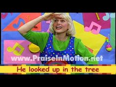 Action songs for little ones! Classics like Zacchaeus, Father Abraham, and Only a Boy Named David--all with MOTIONS! Watch and learn FREE at: Praise in Motion Music - YouTube https://www.youtube.com/user/PraiseInMotionMusic