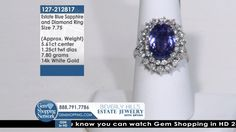 Tune into the most exquisite jewelry on television 24/7! New jewelry arriving daily – Blue Sapphire Necklaces, Red Ruby Rings, Green Emerald Earrings, Yellow Diamond Bracelets and more stunning jewelry at Gem Shopping Network. Call in for pricing.   Item #127-212817 Blue Sapphire Necklace, Emerald Green Earrings, Blue Sapphire Rings, Beverly Hills Shopping, Gem Shop, Ruby Rings, Diamond Bracelets, Fine Jewelry, White Gold