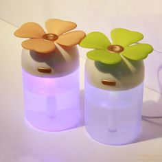 Colorful Night Light Clover Humidifier USB Car Humidifier gift