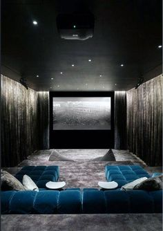 Home theaters luxo Home theaters luxo DIY Home theat.- Home theaters luxo Home theaters luxo DIY Home theater Decoration theater rooms basements Home Theater Lighting, Home Theatre, Home Theater Room Design, Home Cinema Room, Best Home Theater, Home Theater Rooms, Home Theater Seating, Theater Seats, Cinema Room Small