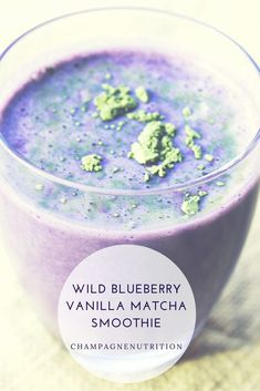 Healthy smoothies are a perfect quick breakfast or post-gym nourishment. Try my simple and delicious Wild Blueberry Vanilla Matcha Smoothie which carries an antioxidant-packed punch plus tons of fresh…More Breakfast Smoothies, Healthy Smoothies, Healthy Drinks, Healthy Snacks, Healthy Recipes, Blueberry Breakfast, Vegan Breakfast, Green Smoothies, Blueberry Juice
