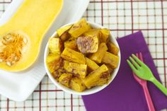 Make this Cinnamon Maple Butternut Squash to fill your kitchen with the scents of the season and wholesome, nutritious and delicious vegetables the whole family will love!
