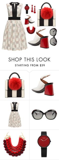 """""""KISS - Keep it Simple, Silly"""" by relixandria on Polyvore featuring Les Petits Joueurs, Marni, Lattori, Linda Farrow, Kenneth Jay Lane, kiss and keepitsimple"""