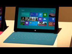 Microsoft Surface Tablet: Hands-on - An unboxing of sort.. of the new Surface.