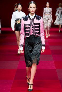 Dolce & Gabbana (SS 2015) #MFW #weddingguest #vestidodefiesta #vestidosinvitadas #tendenciasdebodas