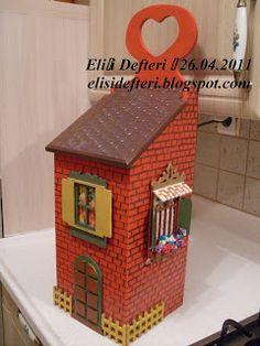Elişi Defteri: Ahşap Boyama Diy Painting, Painting On Wood, Scrap, Stencil, Decoupage Paper, Little Boxes, Kitchen Paint, Home Crafts, Toy Chest