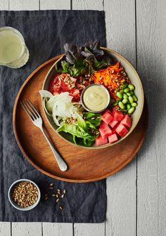 Cobb Salad, Serving Bowls, Salads, Yummy Food, Nutrition, Cheese, Cooking, Healthy, Vegetarian Cooking