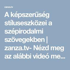 A képszerűség stíluseszközei a szépirodalmi szövegekben   zanza.tv- Nézd meg az alábbi videó metaforákra vonatkozó részeit (1:23-tól) és emeld ki a fontosabb információkat a témával kapcsolatban. Írj saját példát a teljes, illetve a csonka metaforákra. Használd a videóban levő ábrát segítségként!