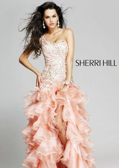 peach prom dresses 2012