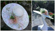 Stunning delicate mint green hat, for Weddings, Mother of the Bride, Special Occassions, Royal Ascot. Hatinator. Fascinator by JayneAlisonMillinery on Etsy