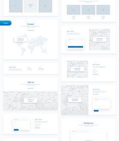 Website Design Inspiration, Web Design Inspiration, Web Layout, Layout Design, Website Wireframe, Wireframe Design, Interaction Design, Design System, Ui Kit