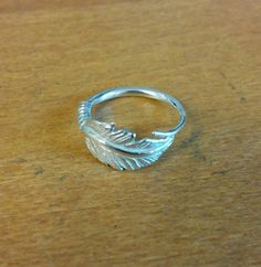 Feather ring Silver 925°°°