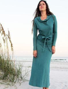 Gaia Conceptions - Cocoon Long Dress, $150.00 (http://www.gaiaconceptions.com/cocoon-long-dress/)