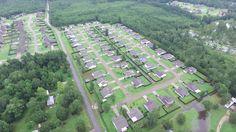 Louisiana Flood 2016 - Pumpkin Center -Drone Footage