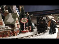 Epic Christmas Village IV - YouTube: This is the BEST village I've posted!!!