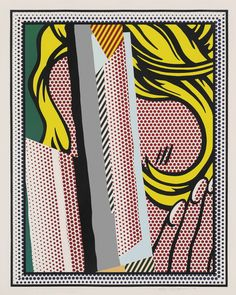 ROY LICHTENSTEIN (1923-1997) | Reflections on Hair, from: Reflections Series | 1990s, Prints & Multiples | Christie's