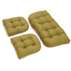 3 Piece Rhett Tufted Patio Cushion Set