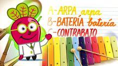 #abc #abecedario #abecedarios #vocabulario #vocabulary #musica #music #instrumentos #musicales #musical #instruments #recursos #educativos #didacticos #resources #educational #spanish #learn #teaching #español #niños #kids #children #toddlers #student #begginer #basic
