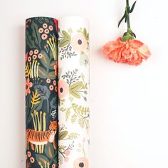 """Wrapping Paper """"Jungle"""" & """"Wild Flowers"""" Rifle Paper Co."""
