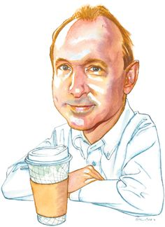 """Lunch with the FT: Tim Berners-Lee ~ After starring in Danny Boyle's Olympics opening ceremony as a coder (""""If you haven't heard of him, we haven't either,"""" said the NBC commentary), the inventor of the world wide web sits down to discuss technology and society."""