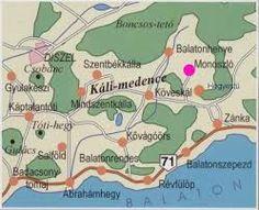 káli medence térkép Káli medence   térkép | Szép vagy, gyönyörű vagy Magyarország  káli medence térkép