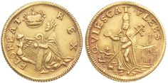 The enigmatic St Patrick's Halfpenny was used in Ireland, Isle of Man and New Jersey - this one was struck in gold Coin Worth, Old Coins, St Patrick, Pewter, Ireland, Irish, Gold, Image, Coins