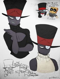 did you ever want to see black hat in those ridiculous sweaters you see popping up? no? good thing i got you covered!