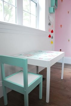 Ikea Hack: Latt Table And Chairs