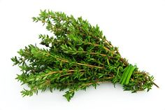 Treat oily herbs differently.  Oily herbs like thyme can be tied loosely together with string and hung in the open air.