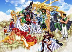 Magic Knight Rayearth by ElynGontier on DeviantArt Magic Knight Rayearth, Xxxholic, Pokemon, Mecha Anime, Manga Characters, Nerd Geek, Cosplay, Comic Artist, Anime Comics