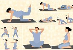 9 Prenatal Pilates Exercises Safe During All Trimesters - - Looking for an effective pregnancy pilates workout? Read this MomJunction article to know different prenatal pilates exercises safe for whole 9 months. Pilates Workout Routine, Pilates Training, Pränatales Training, Cardio Pilates, Prenatal Pilates, Pregnancy Pilates, Exercise During Pregnancy, Prenatal Workout, Mommy Workout