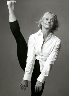 "Twyla Tharp  Her recent book is wonderful and more complex than it looks at first: ""The Creative Habit"""